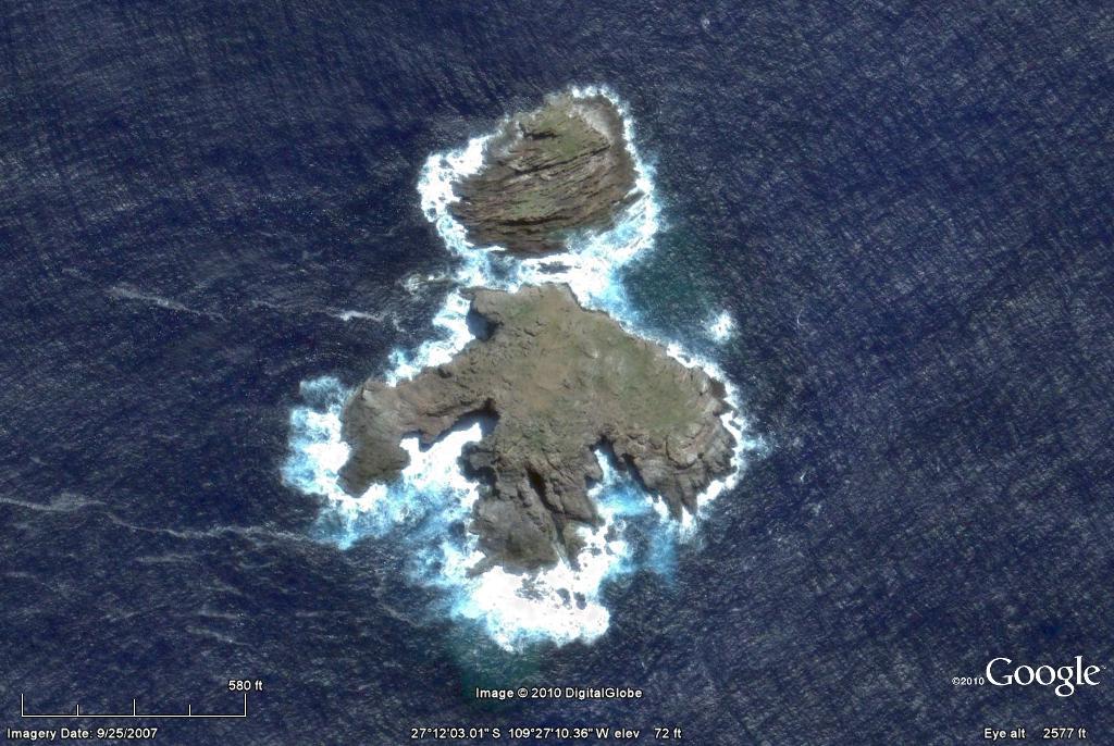 Easter Island Through Google Earth Elitehusky S Planet